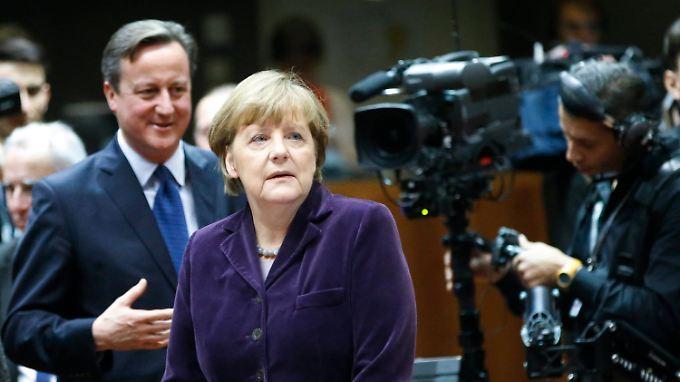David Cameron - nur eines der vielen Probleme, die Angela Merkel in Europa bislang nicht in den Griff bekommt.