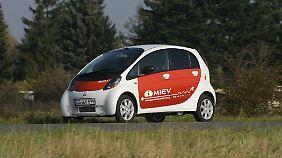 Halbherzig wurde der Mitsubishi iMiEV auf den Elektroantrieb umgerüstet.