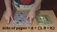 Wissenschaft hilft zu Weihnachten: Mathematikerin verrät den Einpack-Trick
