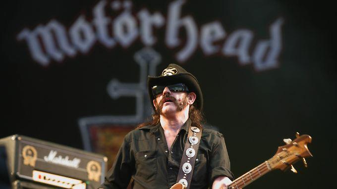 Lemmy Kilmister, Frontmann von Motörhead, ist mit 70 Jahren gestorben.
