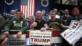 """""""Die schweigende Mehrheit steht zu Donald Trump."""""""