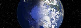 Tief schaufelt Tropenluft in Arktis: Nordpol bis zu 50 Grad wärmer als üblich