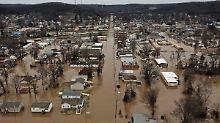 Überschwemmungen in Missouri: Fluten reißen Autofahrer in den Tod