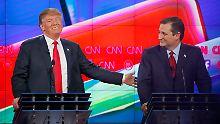 So wählen die US-Republikaner: Das Establishment gegen Trump oder Cruz