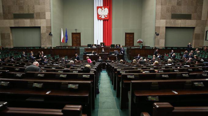 Die Debatte im Sejm dauerte nicht lange: Die polnische Medienreform ist beschlossene Sache.