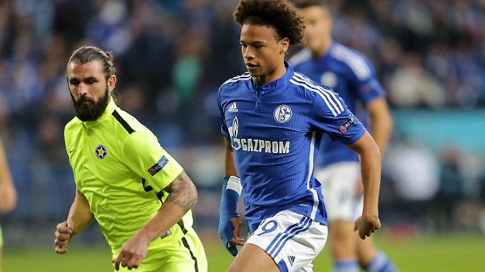 Schalkes Sportvorstand Heldt erklärt Leroy Sané für unverkäuflich.