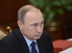 Wladimir Putin warnt den Westen.