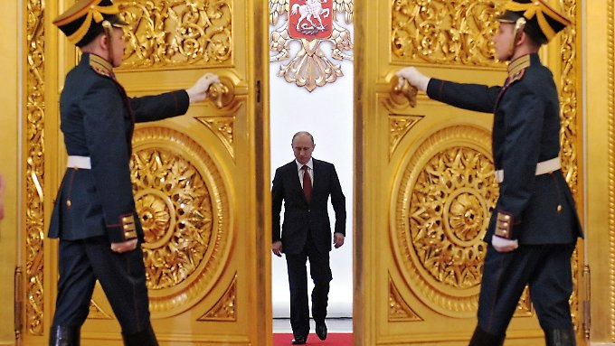 Kremlchef Putin ordnete die Klage gegen die Ukraine persönlich an.