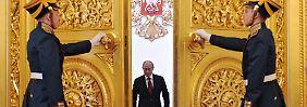 """Kremlchef Putin geht davon aus, dass sich die Beziehungen zur EU """"früher oder später"""" wieder normalisieren."""