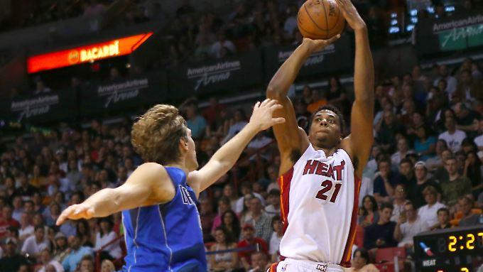 Reichen nicht an die Mannschaft aus Miami heran: Dirk Nowitzki und die Dallas Mavericks.
