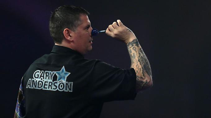 Gary Anderson gewann schon 2015 den Titel des Dart-Weltmeisters.