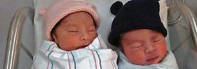 """Gleiche Gene, anderes Geburtsjahr: US-Zwillinge schaffen """"Mini""""-Sensation"""