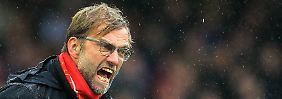 """""""Damit gewinnst du kein Spiel"""": Reds-Pleite macht Klopp zum """"Angry One"""""""