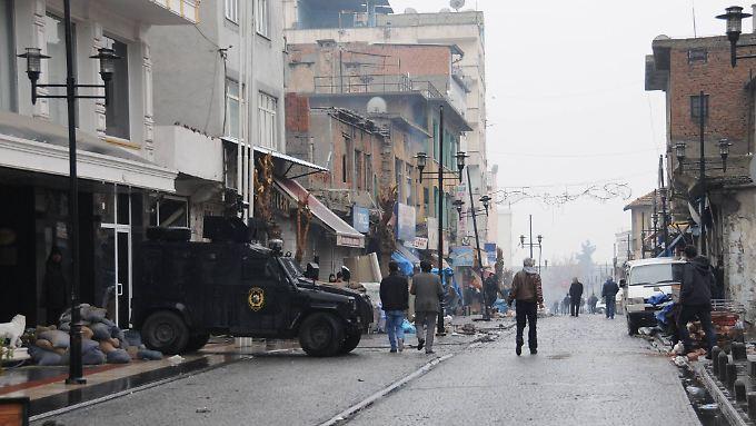 Die türkische Armee führt einen Krieg im eigenen Land.