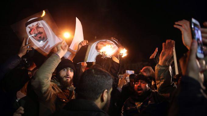 Nach gewaltsamen Protesten: Saudi-Arabien kappt diplomatische Beziehungen zum Iran