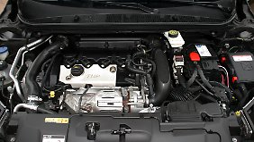 Den 1,6 Liter großen Vierzylinder bringt der Turbo des Peugeot GT auf 285 Newtonmeter Drehmoment.