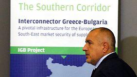 Im Dezember besiegelte Boiko Borissow bereits einen Deal zum Bau einer Gas-Pipeline zwischen Griechenland und Bulgarien.
