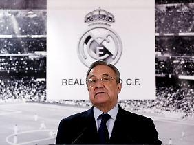 Real-Präsident Florentino Perez wechselt den Trainer wie andere Leute Socken. Der Rauswurf von Rafael Benitez fiel ihm nach eigenen Angaben aber schwer.