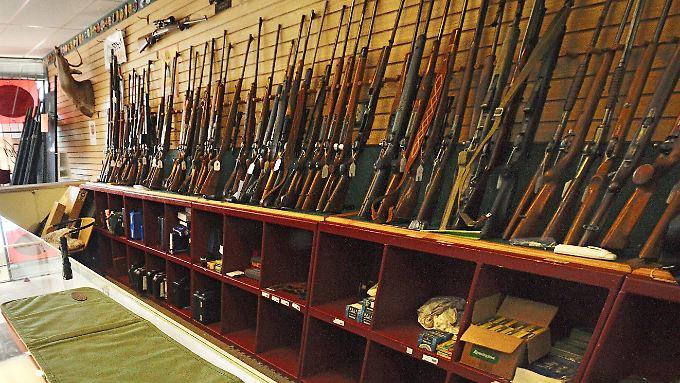 In den USA überall vergleichsweise einfach zu kaufen: Schusswaffen