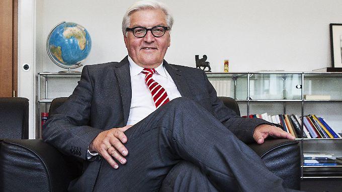 Bundesaußenminister Frank-Walter Steinmeier wird 60 Jahre alt.