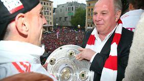 Gemeinsam stark? Franck Ribéry und Uli Hoeneß.