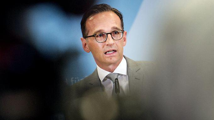Bundesjustizminister Heiko Maas (SPD) äußert deutlich, was er von den Vorgängen in Sachsen hält.