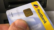 Die Postbank rechnet für das laufende Jahr weiter mit einem Rückgang des Gewinns vor Steuern um mehr als 100 Millionen Euro.