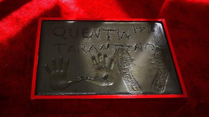 Vor dem Chinese Theatre verewigt: Tarantinos Abdrücke