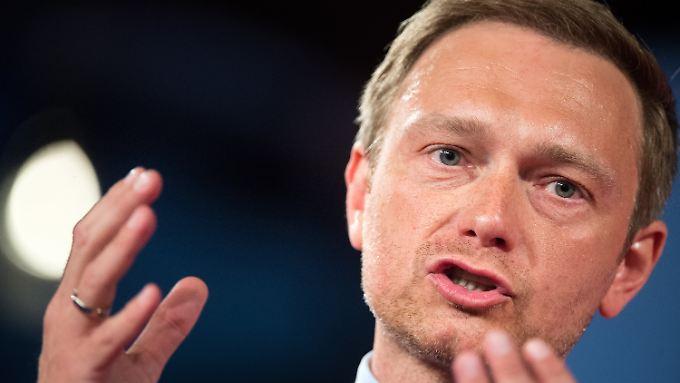 Christian Lindner kritisiert auch die Alleingänge der Bundeskanzlerin.