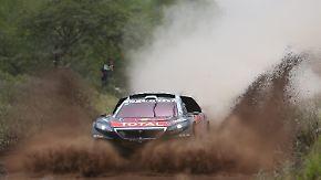Drei Etappen, zwei Siege: Sebastien Loeb legt grandioses Rallye-Dakar-Debüt hin