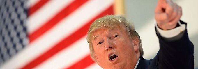 Donald Trump ist Präsidentschaftsbewerber der Republikaner.