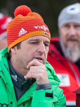 Wie das Abschneiden der Deutschen zu bewerten ist? Bundestrainer Werner Schuster ist sich noch nicht sicher.