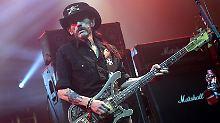 Bis zuletzt stand Lemmy mit Motörhead auf den Bühnen dieser Welt.