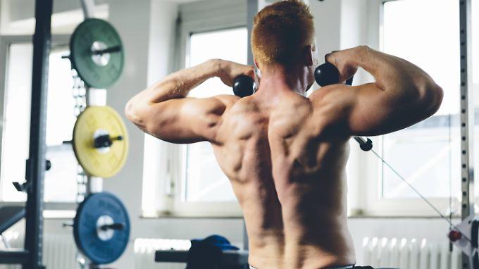 Muskeln zu trainieren, ist bis ins hohe Alter wichtig.