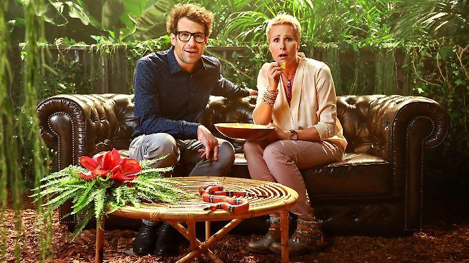 Sie sind bereits in freudiger Erwartung: Daniel Hartwich und Sonja Zietlow.