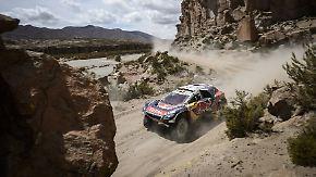 Peugeot auf der Überholspur: Peterhansel gewinnt vierte Etappe der Rallye Dakar