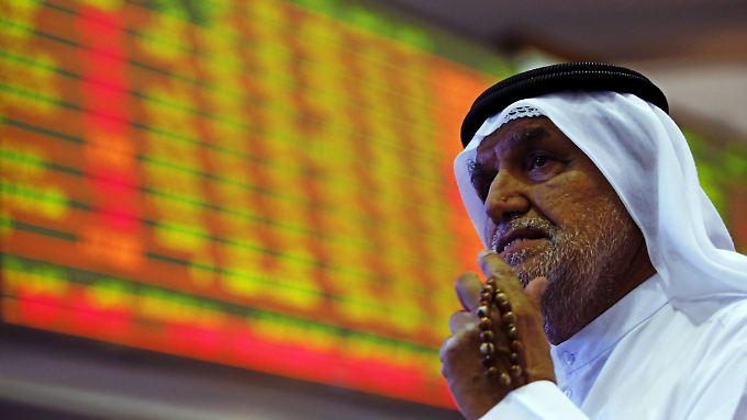 An der Börse in Dubai ging es um 3,4 Prozent abwärts.