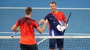 Echter Sportsmann auf dem Court: Jack Sock überrascht Lleyton Hewitt mit fairer Geste