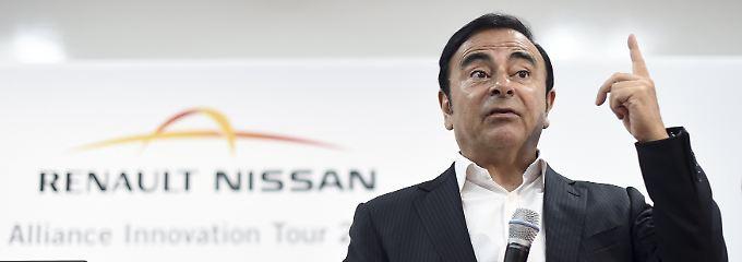 Carlos Ghosn führt seit 2005 den französischen Autobauer Renault.