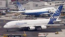 Kampf um die Vorherrschaft: Airbus will Boeing bis 2020 überholt haben
