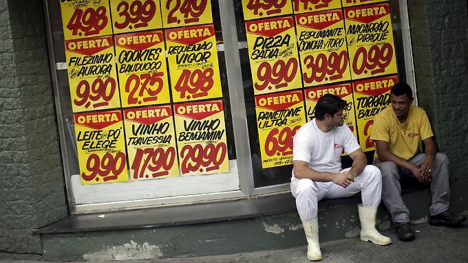 2015 schoss die Inflation auf 10,6 Prozent in die Höhe.