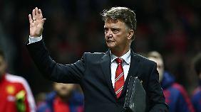 Louis van Gaal hat bei Manchester United noch einen Vertrag bis 2017.