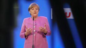 Merkel bei der Klausur des CDU-Vorstands.