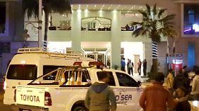 Teilreisewarnung für Ägypten: Terroristen stürmen Hotel in Hurghada