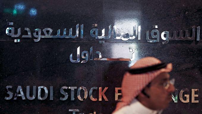 Die saudische Börse Tadawul: Ein Mega-Börsengang könnte auch ausländische Investoren anlocken.