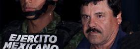 """Flüchtiger Drogenboss festgenommen: """"El Chapo"""" stolpert über seine Eitelkeit"""