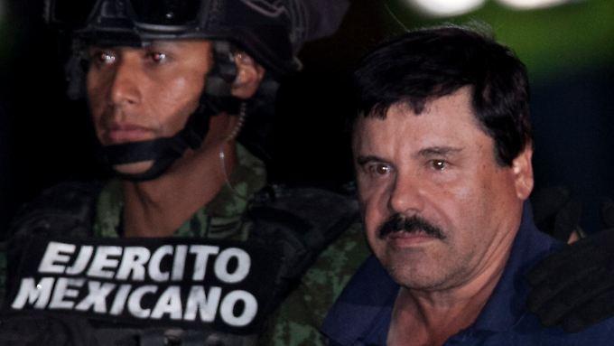 """Wollte Filmstar werden, kam ins Gefängnis: """"El Chapo"""" Guzmán."""