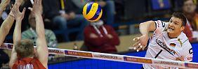 Thriller um Rio-Qualifikation: Russen zu stark für deutsche Volleyballer