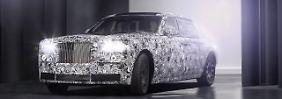SUV als neue Grundlage: Rolls-Royce stellt auf Alu um