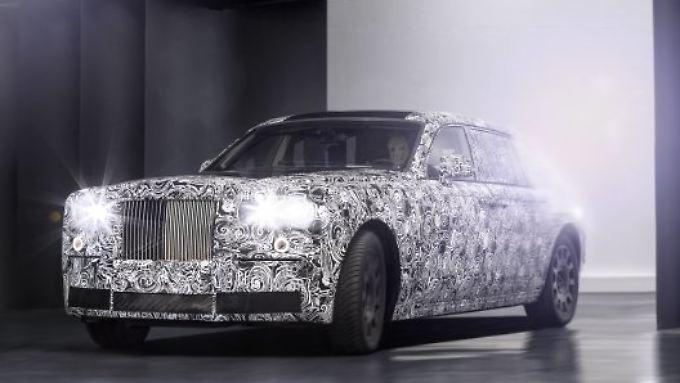 Ab 2018 stehen die ersten Modelle von Rolls-Royce auf der neuen Aluminium-Spaceframe-Architektur.